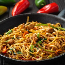 Stir Fried Noodles (dry) with
