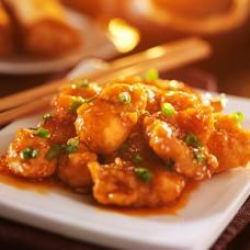 Crispy Chicken in Chilli & Garlic Sauce