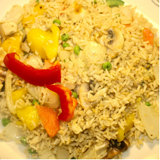 Mixed Veg Fried Rice
