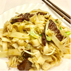 Stir Fried Flat Rice Noodle with
